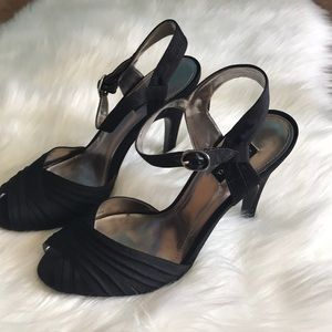 Style & Co Shoes - Style & Co. Evening sandals black satin 8M